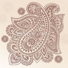 Illustration about Hand-Drawn Abstract Henna Mehndi Tattoo Flower Mandala Medallion and Paisley Doodle Designs- Vector Illustration Design Elemens. Illustration of abstract, mhendi, floral - 14265877 Paisley Doodle, Henna Doodle, Floral Doodle, Doodle Art, Henna Mehndi, Mehndi Tattoo, Henna Tattoo Designs, Henna Art, Mehendi