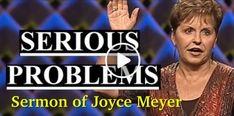 Joyce Meyer - Serious Problems (January-06-2019) - Sermons Online Joyce Meyer Devotional, Joyce Meyer Sermons, Joyce Meyer Quotes, Joyce Meyer Ministries, Church Sermon, Daily Bible, Bible Studies, Christian Life, Scriptures