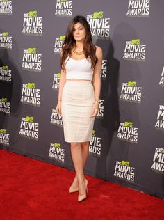 Best (and Wildest) Dressed at the 2013 MTV Movie Awards - Kylie Jenner #fashion