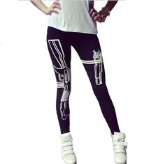 902f8bd860 34 Best HOT Sexy Leggings Fashion images | Print Leggings, Printed ...