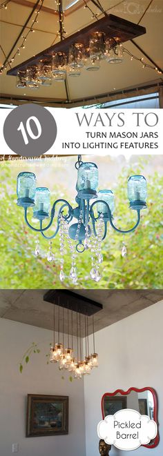 Mason jar lighting mason jar light fixtures mason jar lighting diy diy mason