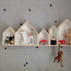 House shaped shelf