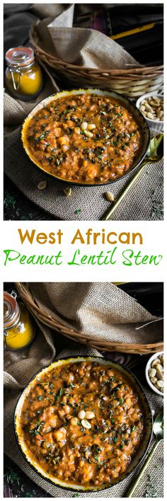 when your day ends and its dinner time cozying up with this hearty bowl of West African Peanut Lentil Stew is always a good idea! Lentil Recipes, Veg Recipes, Side Recipes, Vegetarian Recipes, Cooking Recipes, Vegan Soups, Ovo Vegetarian, Vegetarian Dinners, Healthy Recipes