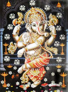 One of the Hindu gods that's face is different then the others..