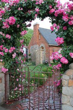 Стильный дом - Английские дома и розы