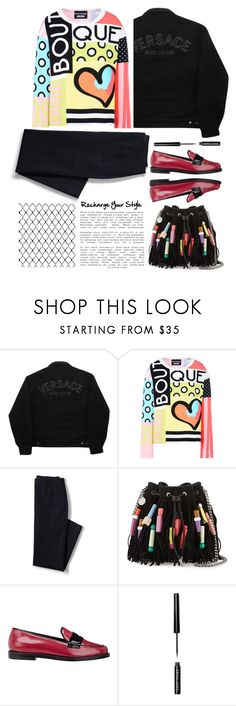 """Recharge Your Style"" by emcf3548 ❤ liked on Polyvore featuring Versace Jeans Couture, Boutique Moschino, Lands' End, STELLA McCARTNEY, Opening Ceremony and Bobbi Brown Cosmetics"