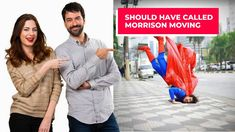 Are you going to play the role of a superhero by moving yourself? We think you should reconsider this idea and call Morrison Moving now at Re. Moving Services, Stress Free, 30 Years, Business Ideas, Hamilton, Man Cave, Families, How Are You Feeling, Handle