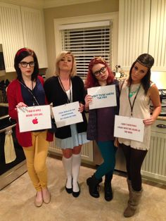 Hipster Disney characters. Snow White, Alice, Ariel, and Pocahontas! #halloween #costume #disney