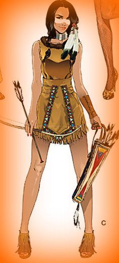 Womans Native American Costume www.etsy.com/shop/thehouseofzuehl