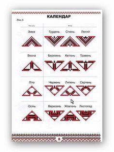Symbols of Ukrainian embroidery Beaded Cross Stitch, Cross Stitch Borders, Cross Stitching, Cross Stitch Patterns, Folk Embroidery, Cross Stitch Embroidery, Embroidery Patterns, Pagan Symbols, Alphabet