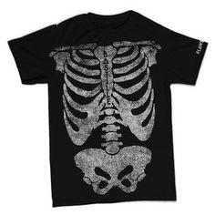 bastille flaws women's skeleton t-shirt