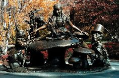 Alice in Central Park NYC, it shows what a popular theme it is across the globe