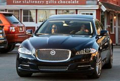 We really think this Jaguar XJ perfectly fits Alanis Morissette's character. Nothing ironic about her driving this car at all.