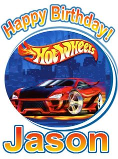 Hot Wheels Birthday Party t Shirt Iron On Transfer Personalized Hot Wheels Custom T Shirt Decal. $3.50, via Etsy.