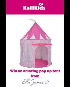 Enter this competition to win an amazing Pop Up Tent