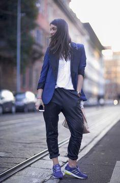Acne blazer, Designers Remix pants, Adidas shoes #Adidas #Shoes SneakerHeadStore.com