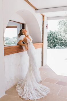 Meet Peony by Emmy Mae. Peony really is what dreams are made of. Her optional tulle bows are perfect for the modern, romantic bride. Tulle Bows, Fitted Skirt, Be Perfect, Peony, Meet, Romantic, Dreams, Bride, Wedding Dresses