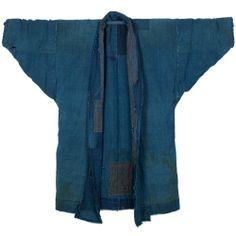 Vintage japanese indigo boro jacket