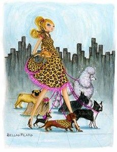 Dog Walk - Bella Pilar