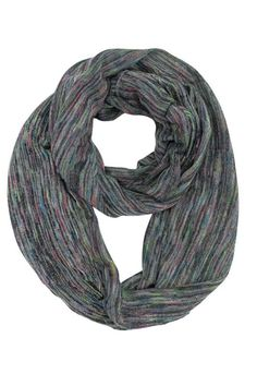 Colorful Pastel Jersey Ring Scarf