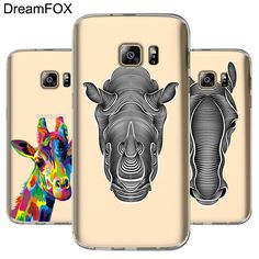 L003 Animal Series Soft TPU Silicone Case Cover For Samsung Galaxy Note 3 4 5 8 S5 S6 S7 Edge S8 Plus Grand Prime #Affiliate