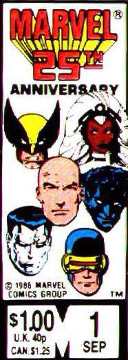Marvel corner box art - X-Men