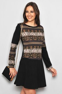 Sweater/dress refashion