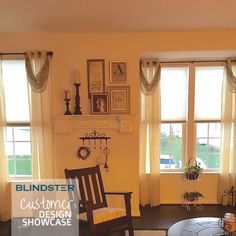 Customer Showcase - Super Value Cordless Single Cellular Shades  - in Living Room - color: Putty 9707?