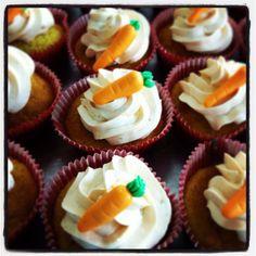 Cup cake de zanahoria