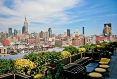 Dream Hotel rooftop bar NYC