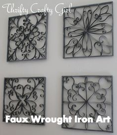 Square Wall Decor Wrought Iron Saw Et Of These In A Friends House Last Week And Fell Love My Wish List Pinterest