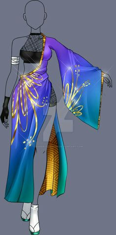 great ideas that draw the style of anime clothes - . - great ideas that draw the style of anime clothes – draw - Anime Outfits, Cool Outfits, Summer Outfits, Drawing Anime Clothes, Dress Drawing, Fashion Design Drawings, Fashion Sketches, Anime Dress, Fantasy Dress