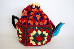 Granny Square Tea Cosy $21
