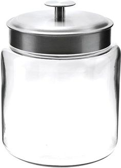 These canisters are fantastic! They're Union made, in the USA, and great for storing dry goods. Anchor Hocking Montana Storage Jar, Glass, 96-Ounce Ancho... https://www.amazon.com/dp/B006CFQLAA/ref=cm_sw_r_pi_awdb_x_dV7nyb22J0WX5