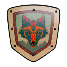 - Description - Details Defend Your Kingdom From Boredom with the Ultimate Wooden Shield! In the Land of Imagination, the Kingdoms of Forest, Sky, Mountain and Sea need your help! Grab your WOLF CLAN