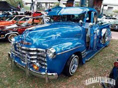 Classic Truck- AWESOME- but not fond of the Lowriders style...