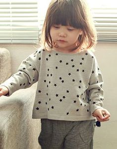 bien a bienトゥインクルプルオーバー - 韓国子供服amber,annikaのtsubomiかわいい輸入服のセレクトショップ