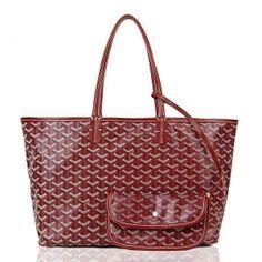 Goyard Saint Louis Handbag Purple  205.00 Goyard Tote Bag, Goyard St Louis  Tote, Louis c84a203b096