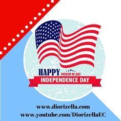 Feliz Día de la Independencia de los Estados Unidos. ‪#‎July4th‬ ‪#‎IndependenceDay‬ ‪#‎DiorizellaEC‬