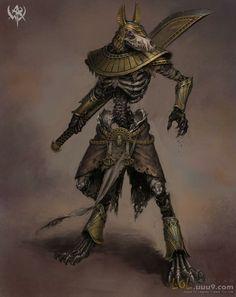 Zombie Nasus concept