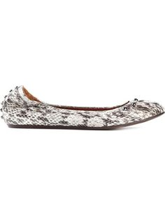 Shop Lanvin textured ballerinas in Luisa World from the world's best independent boutiques at farfetch.com. Over 1000 designers from 300 boutiques in one website.