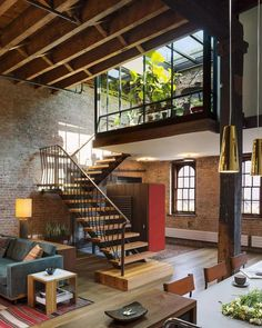 """2,392 Likes, 13 Comments - Interior Design & Decor (@homeadore) on Instagram: """"Tribeca Loft by Andrew Franz """""""