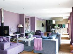 Salon violine / Purple linving-room
