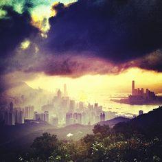 Instagram Photo: Hong Kong Skyline