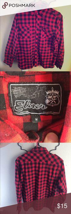 NWOT Lumberjack Shirt. Never worn but no tags. Elixir Shirts Casual Button Down Shirts