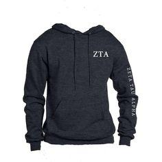Zeta Tau Alpha Ho... now available! Shop http://manddsororitygifts.com/products/zeta-tau-alpha-sweatshirt-hoodie-gl-sn-arm?utm_campaign=social_autopilot&utm_source=pin&utm_medium=pin