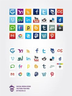 Social Media Icons Vectors For Free Sketch Doodles Social Icons, Social Networks, Free Icon Packs, Png Icons, You Are The Father, Icon Set, Vector Free, How To Draw Hands, Doodles