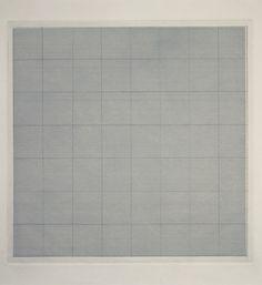 "pencil drawing on aquatint ground; 12-3/4"" x 12-3/4"" (32.4 cm x 32.4 cm);  ; © 1961 Agnes Martin /Artists Rights Society (ARS), New York"