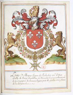 Louis d' Aloigny, Marques of Rochefort, Baron of Craon (d.1657).