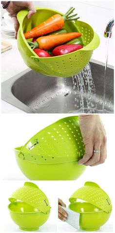»Fruit Vegetables Wash Storage Drainer. One of the essential tool in the kitchen« #forthehome #forthekitchen